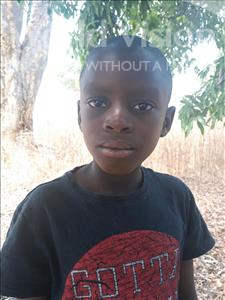 Choose a child to sponsor, like this little boy from Keembe, Gilbert age 9