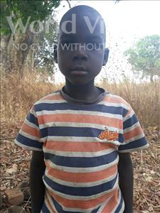 Choose a child to sponsor, like this little boy from Keembe, Dennis age 6