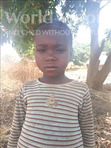 Choose a child to sponsor, like this little boy from Keembe, Douglas Jr age 5