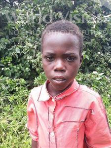 Choose a child to sponsor, like this little boy from Keembe, Maybin age 10