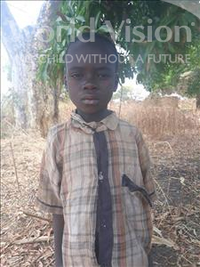 Choose a child to sponsor, like this little boy from Keembe, Wellington age 9