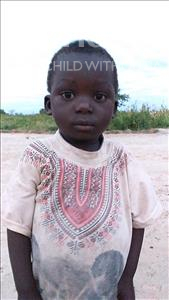 Choose a child to sponsor, like this little boy from Keembe, Enerst age 3