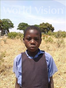 Choose a child to sponsor, like this little girl from Keembe, Peggy age 7