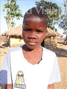 Choose a child to sponsor, like this little girl from Keembe, Mwangala age 9