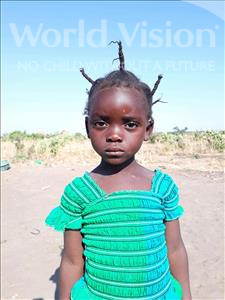 Choose a child to sponsor, like this little girl from Keembe, Eletina age 4