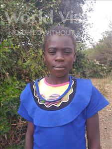 Choose a child to sponsor, like this little girl from Keembe, Mercy age 10