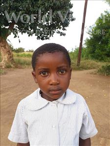 Choose a child to sponsor, like this little girl from Keembe, Zimba age 4