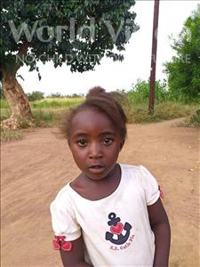 Choose a child to sponsor, like this little girl from Keembe, Mwamukusa age 4