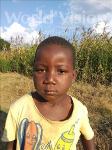Choose a child to sponsor, like this little boy from Keembe, Moonga age 4