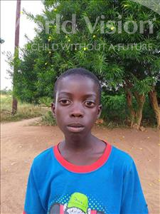 Choose a child to sponsor, like this little boy from Keembe, Siacilubi age 7