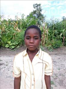 Choose a child to sponsor, like this little boy from Keembe, Saviour age 8