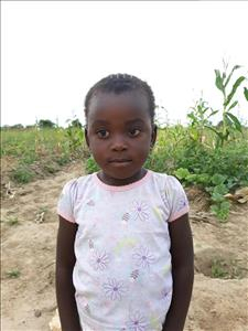 Choose a child to sponsor, like this little girl from Keembe, Angelina age 3