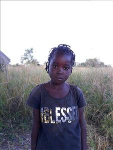 Choose a child to sponsor, like this little girl from Keembe, Idah age 6