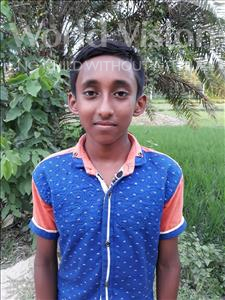 Choose a child to sponsor, like this little boy from Ghoraghat, Dipto age 12