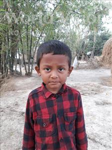 Choose a child to sponsor, like this little boy from Ghoraghat, Ragib Nihal age 6