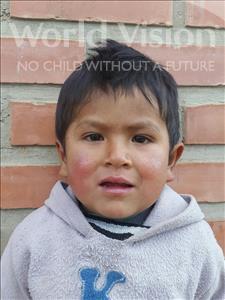 Choose a child to sponsor, like this little boy from Mosoj P'unchay, Elisardo age 4