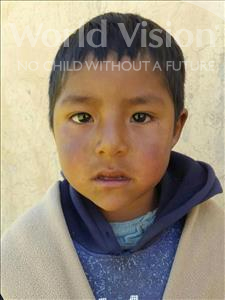 Isaac, aged 5, from Bolivia, is hoping for a World Vision sponsor