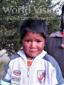 Elmer, aged 5, from Bolivia, is hoping for a World Vision sponsor