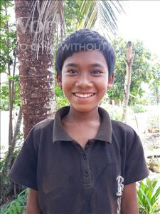 Kao, aged 12, from Cambodia, is hoping for a World Vision sponsor