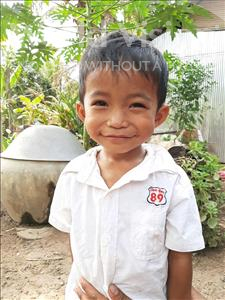 Sochoeurn, aged 3, from Cambodia, is hoping for a World Vision sponsor