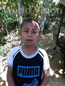 Choose a child to sponsor, like this little boy from Maya, Milton Elias age 7