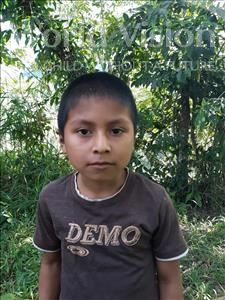 Choose a child to sponsor, like this little boy from Maya, Darwin Josue age 8