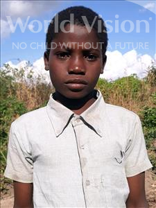 Choose a child to sponsor, like this little boy from Kazuzo, Mendes Antonio age 13