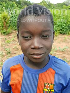 Joao Jacinto, aged 13, from Mozambique, is hoping for a World Vision sponsor