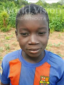 Choose a child to sponsor, like this little boy from Kazuzo, Joao Jacinto age 13
