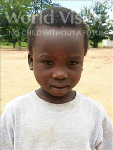 Domingos Carlos, aged 7, from Mozambique, is hoping for a World Vision sponsor