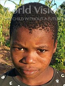 Felesmino Alvaro, aged 10, from Mozambique, is hoping for a World Vision sponsor