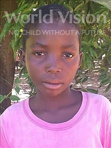 Jesito Elias, aged 12, from Mozambique, is hoping for a World Vision sponsor