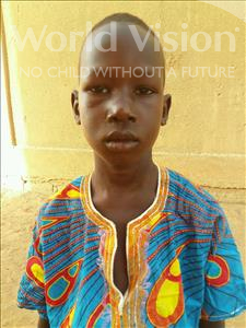 Choose a child to sponsor, like this little boy from Sirba, Issa age 7