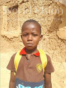 Boureima, aged 7, from Niger, is hoping for a World Vision sponsor