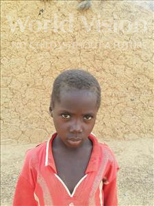 Adamou, aged 7, from Niger, is hoping for a World Vision sponsor