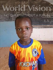 Choose a child to sponsor, like this little boy from Sirba, Kasim age 7