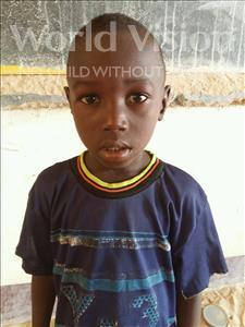 Choose a child to sponsor, like this little boy from Sirba, Yacouba age 7