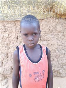 Choose a child to sponsor, like this little boy from Sirba, Harissou age 6
