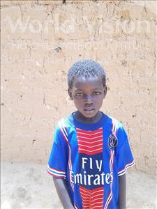 Choose a child to sponsor, like this little boy from Sirba, Sofiane age 7