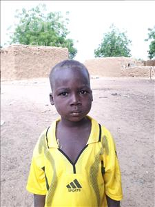 Choose a child to sponsor, like this little boy from Sirba, Mahamadou Mounir age 7