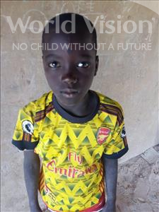 Choose a child to sponsor, like this little boy from Sirba, Salamou age 10