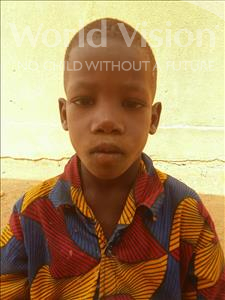 Choose a child to sponsor, like this little boy from Sirba, Abdourhamane age 6
