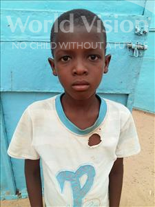 Choose a child to sponsor, like this little boy from Sirba, Koudoussou age 8