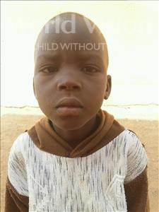Choose a child to sponsor, like this little boy from Sirba, Imrane age 6