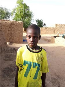 Choose a child to sponsor, like this little boy from Komabangou, Ibrahim age 10