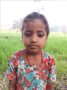 Choose a child to sponsor, like this little girl from Sarlahi, Sajda age 6