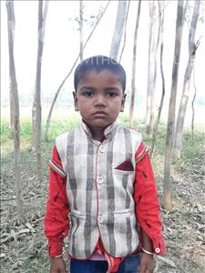Choose a child to sponsor, like this little boy from Sarlahi, Rabish Kumar age 3