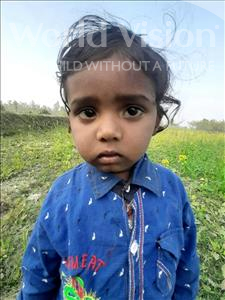 Choose a child to sponsor, like this little boy from Sarlahi, Bipesh age 2