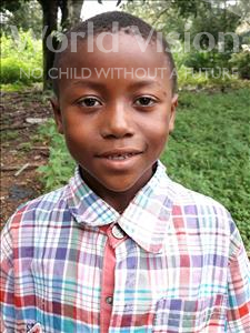 Vandy, aged 7, from Sierra Leone, is hoping for a World Vision sponsor
