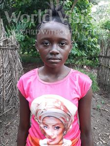 Choose a child to sponsor, like this little girl from Tegloma, Iye age 12